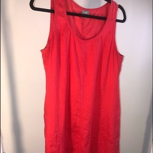 J. Jill sleeveless Linen Dress